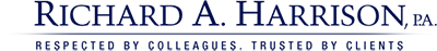 Richard A. Harrison, P.A. Header Logo